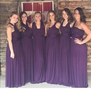 David S Bridal Plum Bridesmaid Dresses 51 Off Dktotal Dk